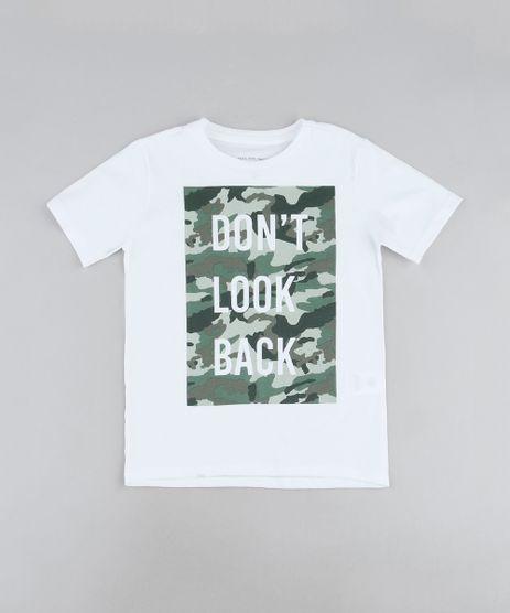 Camiseta-Infantil--Don-t-Look-Back--Camuflada-Manga-Curta-Off-White-9943392-Off_White_1