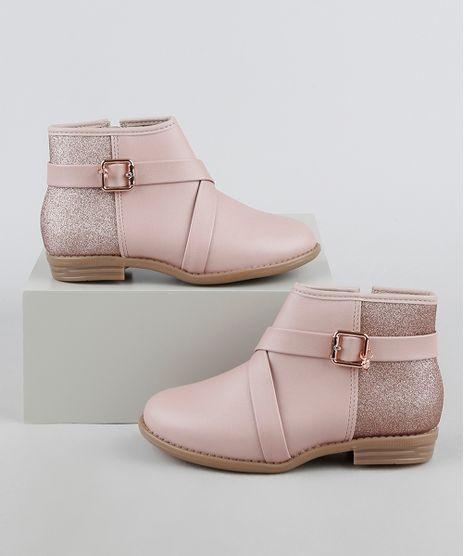 Bota-Infantil-Molekinha-Cano-Curto-com-Glitter-Rosa-Claro-9949476-Rosa_Claro_1