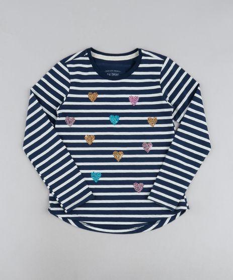 Blusa-Infantil-Listrada-com-Coracoes-de-Paete-Manga-Longa-Azul-Marinho-9946325-Azul_Marinho_1