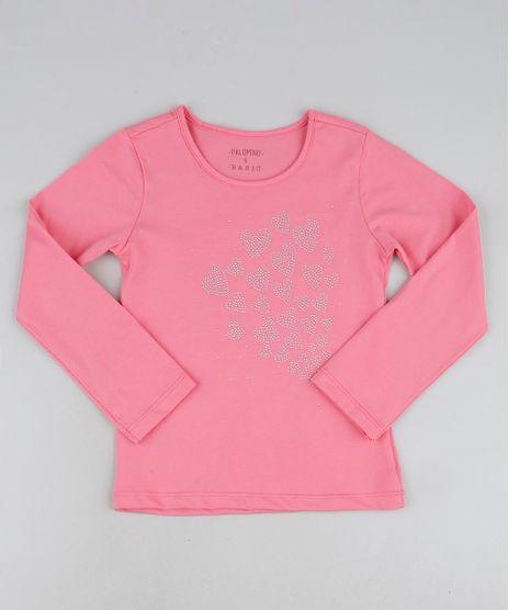 Blusa-Infantil-Coracoes-em-Strass-Manga-Longa-Rosa-9945353-Rosa_1