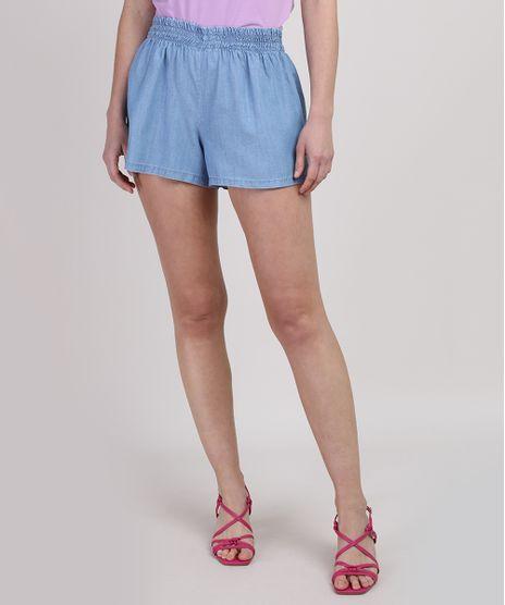 Short-Jeans-Feminino-Cintura-Media-Azul-Claro-9950902-Azul_Claro_1