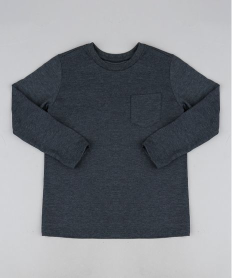 Camiseta-Infantil-Basica-com-Bolso-Manga-Longa--Cinza-Mescla-Escuro-9943389-Cinza_Mescla_Escuro_1