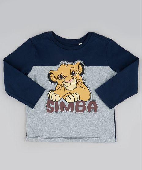 Camiseta-Infantil-Simba-O-Rei-Leao-Manga-Longa-Azul-Marinho-9942407-Azul_Marinho_1
