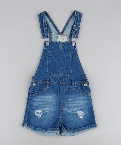 Jardineira-Jeans-Infantil-Destroyed-com-Bolsos-e-Azul-Medio-9944366-Azul_Medio_1