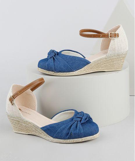 Sandalia-Infantil-Anabela-Baixo-em-Corda-com-No-em-Jeans-Azul-Medio-9948066-Azul_Medio_1
