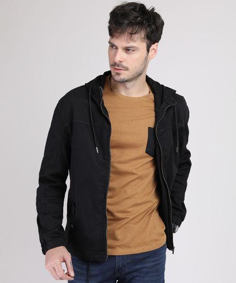 Jaqueta-Jeans-Masculina-com-Recorte-Bolsos-e-Capuz-Preta-9943728-Preto_1