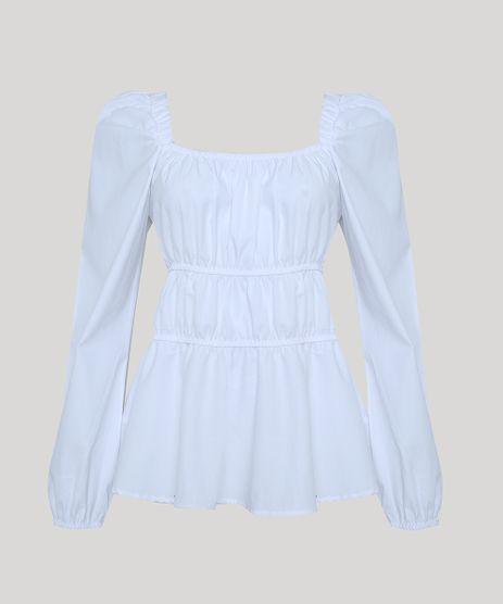Blusa-Feminina-Mindset-com-Franzido-e-Babado-Manga-Bufante-Decote-Reto-Branca-9950382-Branco_1