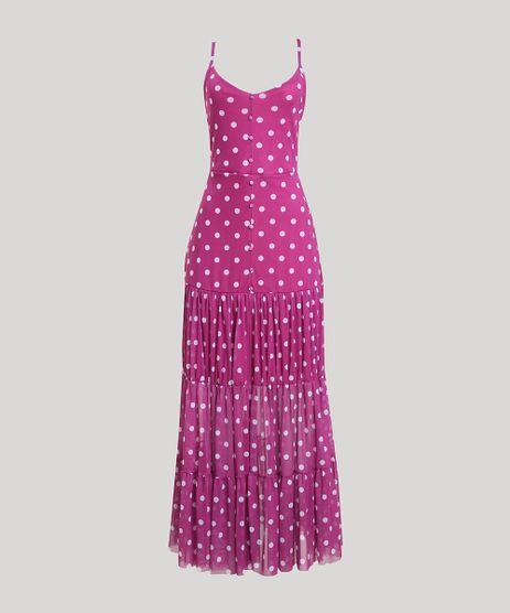 Vestido-de-Tule-Feminino-Mindset-Longo-Estampado-de-Poa-com-Recortes-Alca-Fina-Roxo-9949309-Roxo_1
