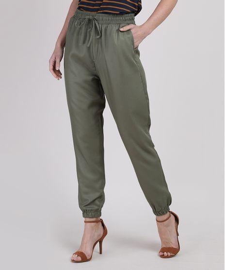 Calca-Feminina-Jogger-Cintura-Super-Alta-Cos-com-Cordao-Verde-Militar-9950893-Verde_Militar_1