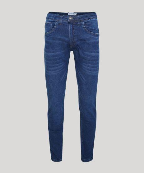 Calca-Jeans-Masculina-Estonada--Reta-Azul-Medio-9945442-Azul_Medio_1