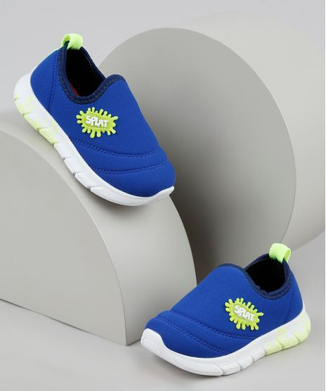 Tenis-Infantil-Molekinho-Knit-Running-Azul-9948757-Azul_1