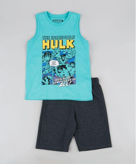 Conjunto-Infantil-de-Regata-Hulk-Verde-Agua---Bermuda-de-Moletom-Cinza-Mescla-Escuro-9943388-Cinza_Mescla_Escuro_1