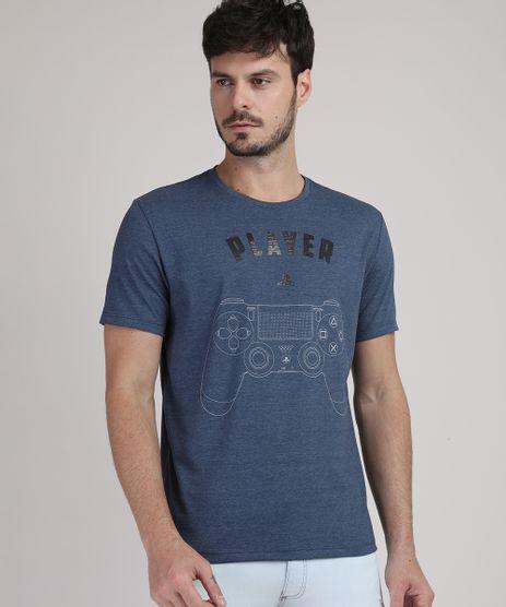 Camiseta-Masculina-PlayStation-Manga-Curta-Gola-Careca-Azul-Marinho-9949445-Azul_Marinho_1