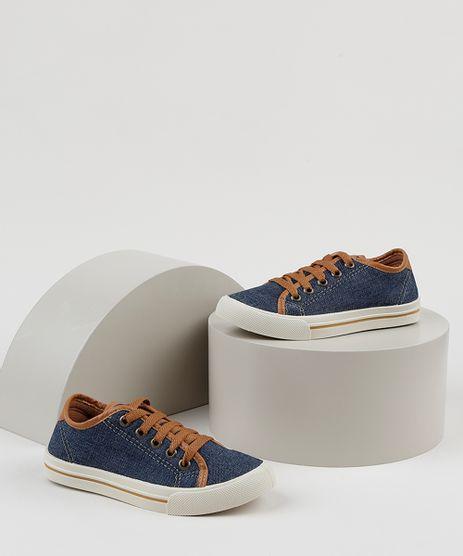 Tenis-Infantil-Efeito-Jeans-Azul-Escuro-9828572-Azul_Escuro_1