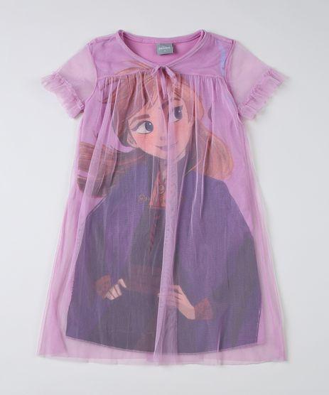 Camisola-Infantil-Anna-com-Tule-Manga-Curta-Decote-V-Lilas-9916472-Lilas_1
