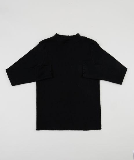 Blusa-Infantil-Canelada-Manga-Longa-Fru-Fru--Preta-9551803-Preto_1