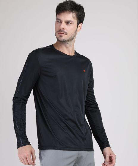 Camiseta-Masculina-Esportiva-Ace-com-Recorte-Manga-Longa-Gola-Careca-Preta-9943822-Preto_1