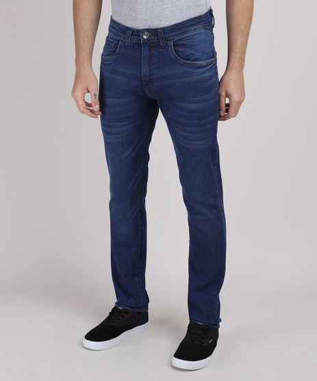 Calca-Jeans-Masculina-Reta-Azul-Medio-9945442-Azul_Medio_1