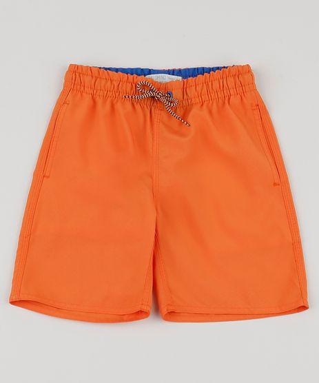 Bermuda-Surf-Infantil-Basica-com-Bolso--Laranja-9663800-Laranja_1
