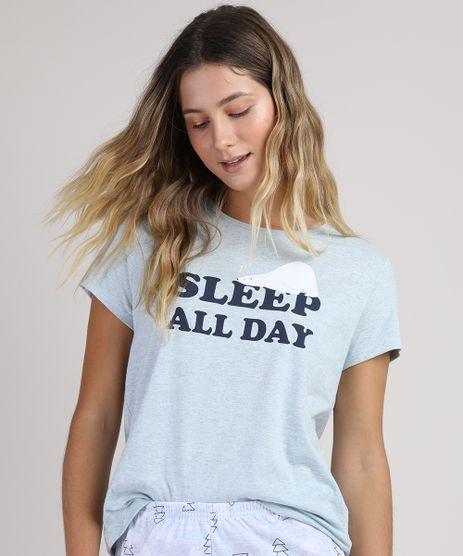 Pijama-Feminino--Sleep-All-Day--Manga-Curta-Azul-Claro-9928547-Azul_Claro_1