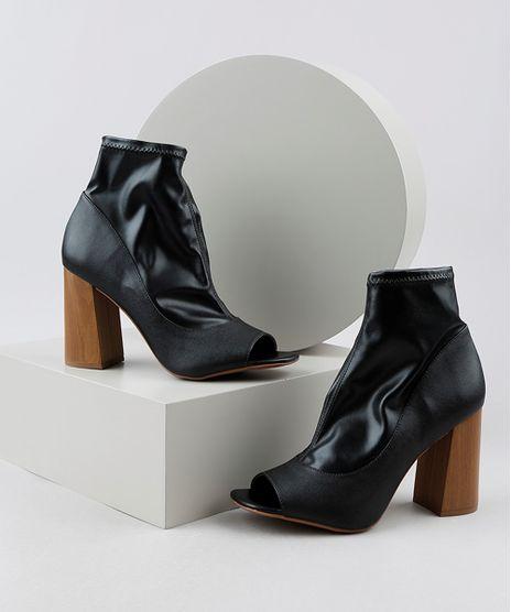 Bota-Open-Boot-Feminina-Cano-Curto-Salto-Alto-em-Madeira-Preta-9945503-Preto_1