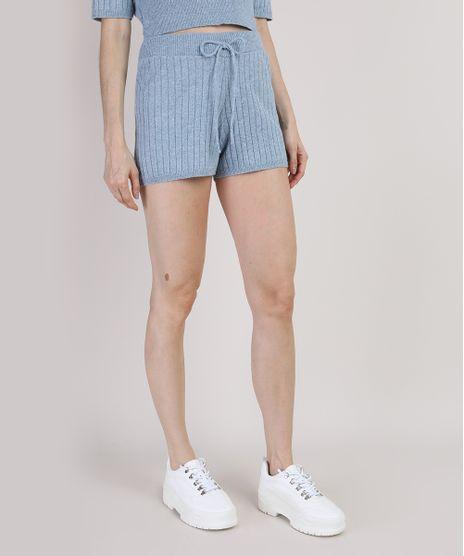 Short-de-Trico-Feminino-Mindset-Hot-Pant-Cintura-com-Elastico-Super-Alta-Canelado-Azul-Claro-9950745-Azul_Claro_1