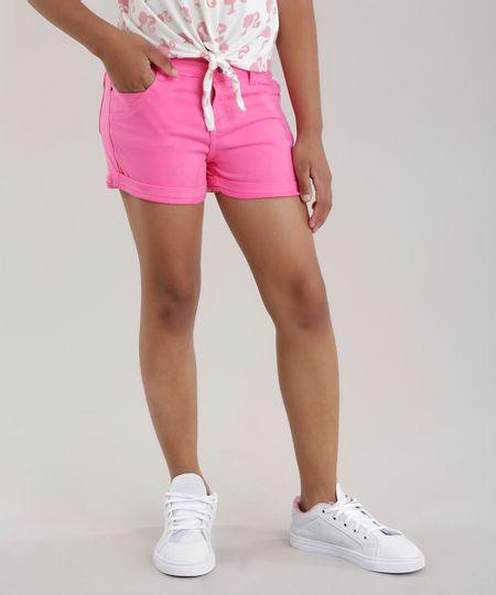 3fb059bd3 Short Jeans em Algodão + Sustentável Azul Claro | Menor preço com cupom