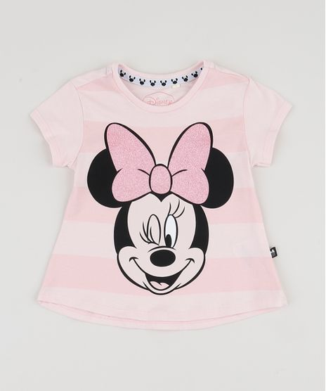 Blusa-Infantil-Minnie-Manga-Curta-Rosa-Claro-9943012-Rosa_Claro_1