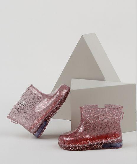 Bota-Galocha-Infantil-Baby-Club-com-Glitter-e-Luz-Vermelha-9952207-Vermelho_1