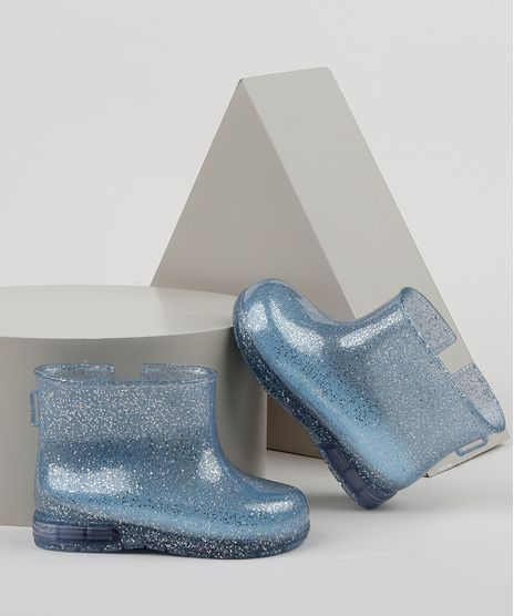 Bota-Galocha-Infantil-Baby-Club-com-Glitter-e-Luz-Azul-Claro-9952208-Azul_Claro_1