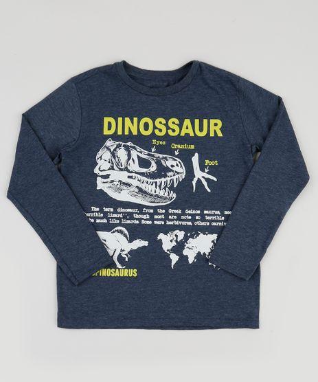 Camiseta-Infantil-Dinossauros-Manga-Longa-Azul-Marinho-9943391-Azul_Marinho_1