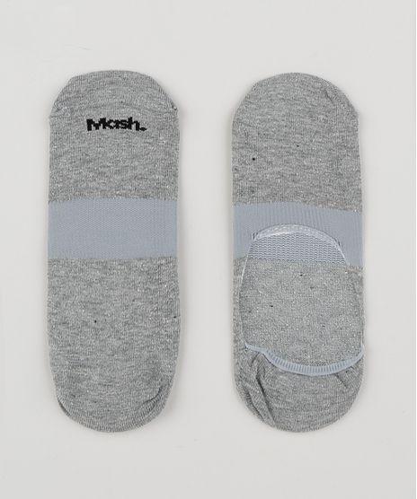 Meia-Masculina-Mash-Invisivel-Cinza-Mescla-9950988-Cinza_Mescla_1