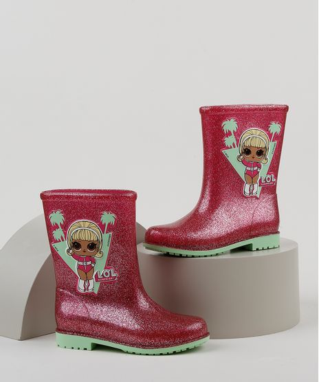 Bota-Galocha-Infantil-Grendene-Lol-Surprise-com-Glitter-Pink-9948730-Pink_1
