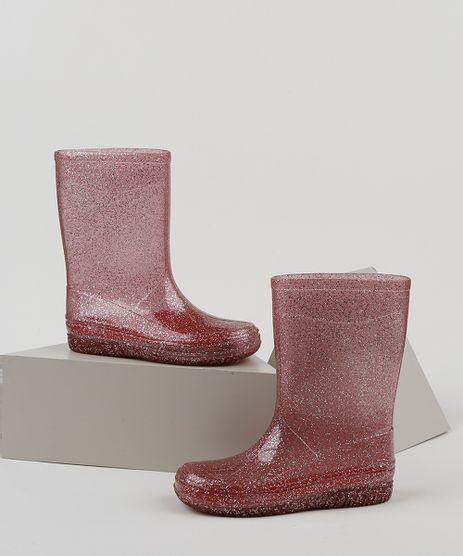 Bota-Galocha-Infantil-Palomino-com-Glitter-Vermelha-9952203-Vermelho_1
