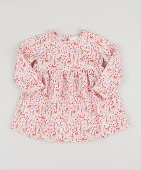 Vestido-Infantil-Bambi-Estampado-Texturizado-Manga-Longa---Calcinha-Rosa-Claro-9945184-Rosa_Claro_1