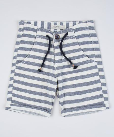 Bermuda-Infantil-Listrada-com-Bolsos-Off-White-9761848-Off_White_1