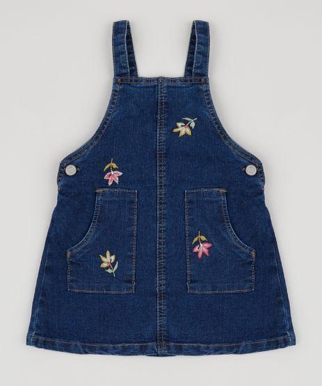 Salopete-Jeans-Infantil-com-Bordado-Azul-Escuro-9944061-Azul_Escuro_1
