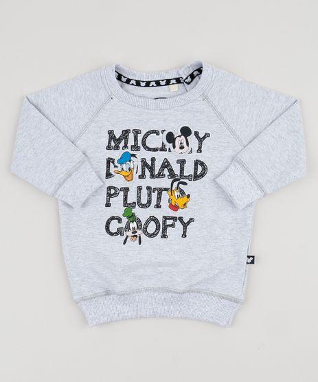 Blusao-de-Moletom-Infantil-Mickey-e-Amigos-Cinza-Mescla-Claro-9947804-Cinza_Mescla_Claro_1
