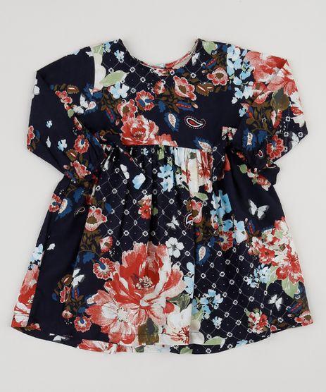 Vestido-Infantil-Tal-Mae-Tal-Filha-Estampado-Floral-Manga-Longa-Azul-Marinho-9946630-Azul_Marinho_1