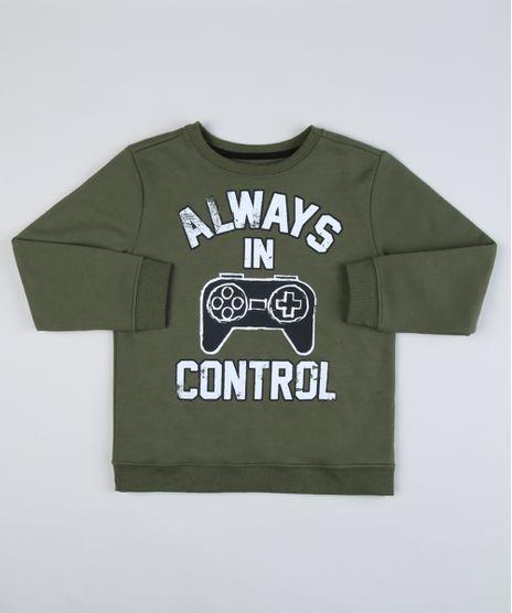 Blusao-de-Moletom-Infantil--Always-in-Control--Verde-Militar-9943701-Verde_Militar_1