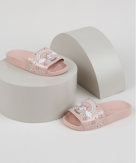 Chinelo-Slide-Infantil-Molekinha-Unicornio-Rosa-Claro-9952670-Rosa_Claro_1