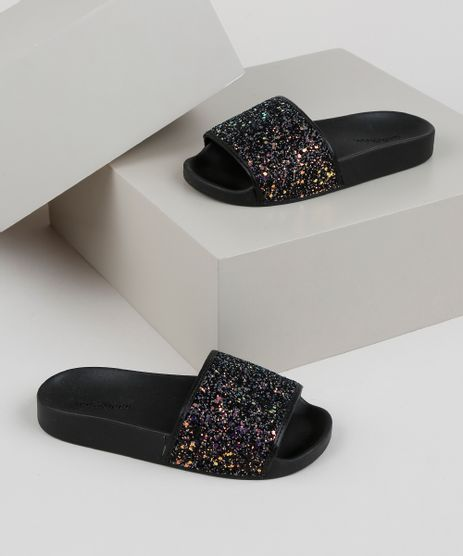 Chinelo-Slide-Infantil-Molekinha-com-Glitter-Preto-9952667-Preto_1