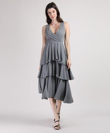 Vestido-Feminino-Mindset-Midi-Canelado-em-Camadas-com-Transpasse-Sem-Manga-Cinza-Mescla-Escuro-9951164-Cinza_Mescla_Escuro_1