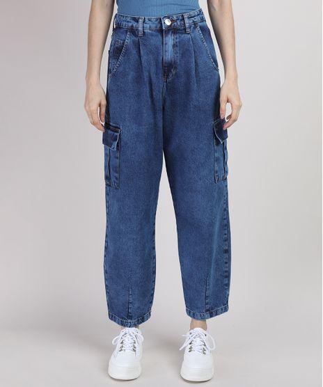 Calca-Jeans-Feminina-Mindset-Slouchy-Cargo-Cintura-Super-Alta-Azul-Medio-9948968-Azul_Medio_1