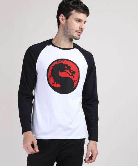 Camiseta-Masculina-Mortal-Kombat-Manga-Longa-Raglan-Gola-Careca-Branca-9909495-Branco_1
