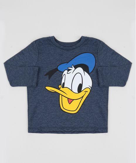 Camiseta-Infantil-Pato-Donald-Manga-Longa-Azul-Escuro-9951853-Azul_Escuro_1