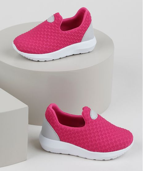 Tenis-Infantil-Sonho-de-Crianca-Knit-Calce-Facil-com-Recortes-Rosa-9953691-Rosa_1