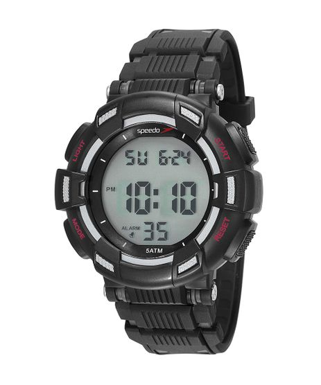 Kit-de-Relogio-Digital-Speedo-Masculino---Fone-de-Ouvido---81183G0EVNP2K1-Preto-9950490-Preto_1
