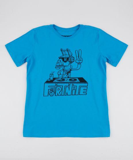 Camiseta-Juvenil-Fortnite-Manga-Curta-Azul-9950614-Azul_1