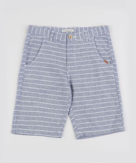 Bermuda-Jeans-Infantil-Listrada-Com-Bolsos-Azul-Claro-9942100-Azul_Claro_1